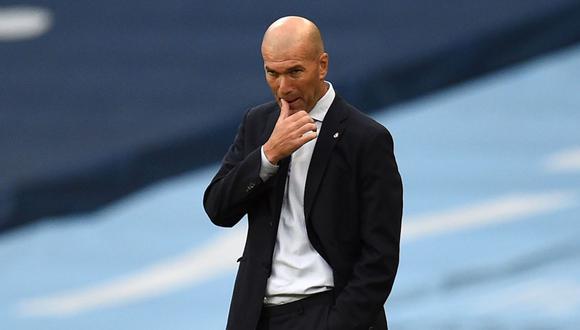 Zinedine Zidane pierde su primera eliminatoria de Champions League como entrenador. (Foto: AFP)