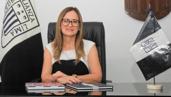Kattia Bohorquez lidera la primera administración designada por el Fondo Blanquiazul en Alianza Lima. (Foto: Alianza Lima)
