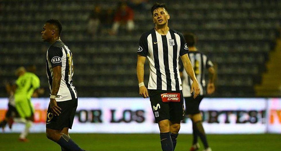 Alianza Lima vs. Cristal: ¿Mauricio Affonso llega para la final?