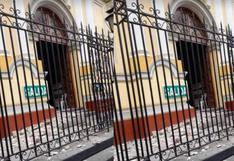 Sismo en Piura: Catedral quedó afectada tras  temblor de 6,1 que remeció esta tarde la región