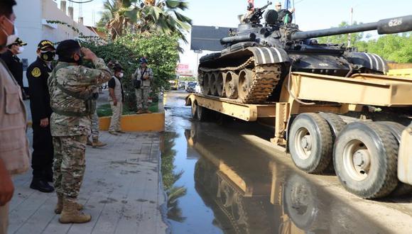 Unidades del Ejército del Perú (EP) llegarán a diferentes puntos para bloquear el paso de extranjeros indocumentados en la frontera con Ecuador.