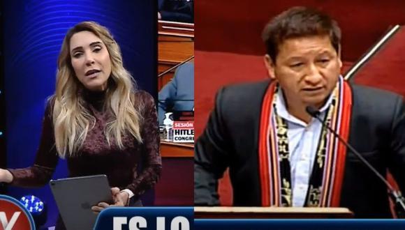 """La periodista aseguró que """"se debió contar con un traductor"""" en vez de menospreciar un idioma hablado por 4 millones de peruanos (Captura ATV)"""