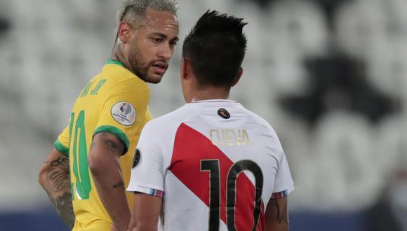 La periodista de DirecTV reveló lo que conversaron los jugadores de Brasil y Perú tras el partido de semifinales de Copa América.
