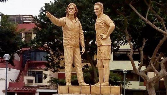 Técnico mundialista tendrá su estatua como Paolo Guerrero y Ricardo Gareca