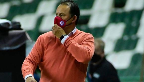 Juan Reynoso renovará contrato con Cruz Azul. (Foto: Cruz Azul)