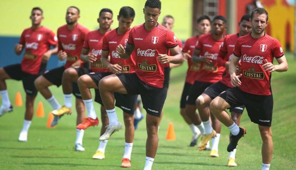 Este lunes se desarrollo el primer microciclo de entrenamientos de la selección peruana. (Foto: @SeleccionPeru)