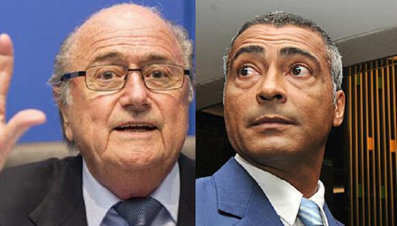 Mundial Brasil 2014: Romario llama hijo de p.... a Blatter
