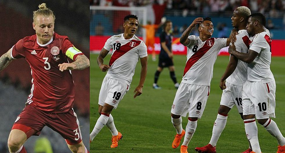 """Capitán de Dinamarca: """"Será un gran desafío enfrentar a Perú"""""""
