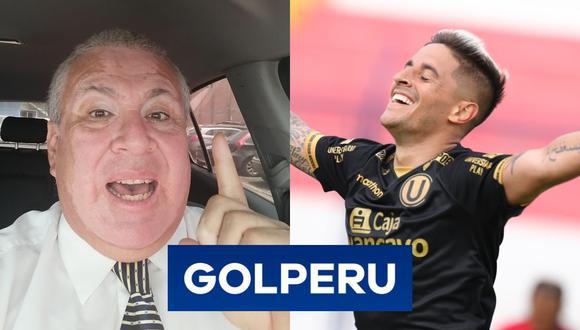 Según los hinchas 'cremas', el narrador deportivo le da suerte al equipo de Ángel Comizzo y por ello lo piden para la final de la Liga 1 Movistar