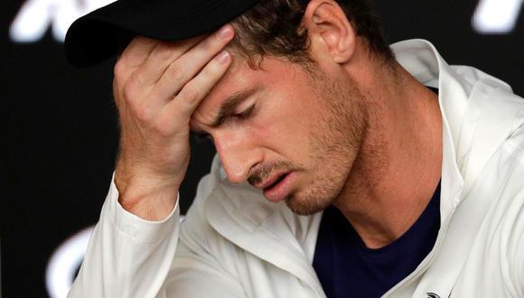 Andy Murray quedo fuera del Abierto de Australia (Foto: AP)