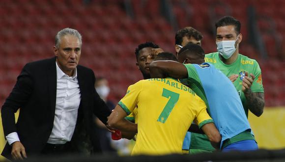 Brasil venció 2-0 a Ecuador por la jornada 7 de Eliminatorias rumbo a Qatar 2022 en el estadio Beira-Río.