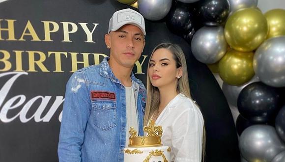 Jean Deza le cantó feliz cumpleaños a su pareja Gabriela Figueroa. (Foto: Instagram @jeandeza9)