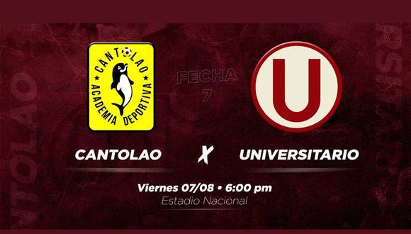 El fútbol peruano se reanudará, con el choque que protagonicen Universitario de Deportes y la Academia Cantolao. Sigue el minuto a minuto, estadísticas, incidencias, goles, entrevistas y resultados del cotejo que se disputará en el Estadio Nacional de Lima.
