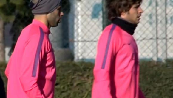Barcelona no para de entrenar a pesar del Año Nuevo [VIDEO]