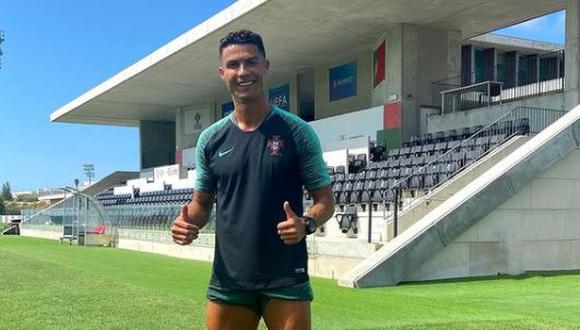 Ronaldo volvió con goles al Manchester United. (Foto: Cristiano Ronaldo / Instagram)