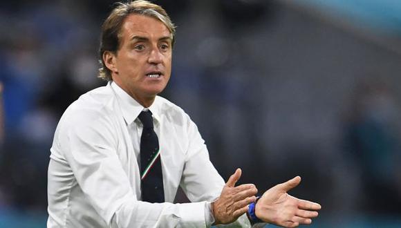Roberto Mancini es entrenador de Italia desde mayo del 2018. (Foto: AFP)