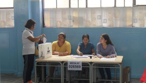 Las elecciones generales se realizarán de todos modos el próximo 11 de abril del 2021. (Foto: Referencial / GEC)