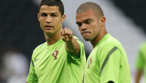 Eurocopa: Pepe dice que CR7 les pidió que ganen por él