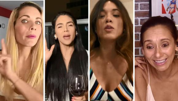 Vania Bludau, Jazmín Pinedo, Brenda Carvalho y Carla Chuiman lanzan programa web en YouTube. (Captura de pantalla).