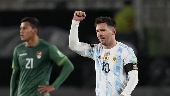 Lionel Messi fue autor de un triplete en la victoria de Argentina sobre Bolivia. (Foto: Reuters)