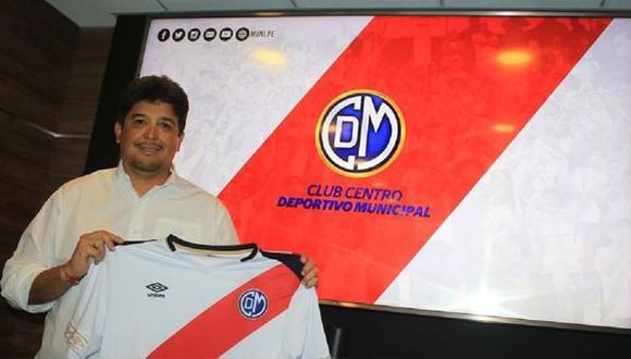 Víctor Rivera llegó a Deportivo Municipal en la temporada 2018. (Foto: D. Municipal)