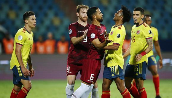 Colombia empató 0-0 con Venezuela en el estadio Olímpico. (REUTERS/Diego Vara)