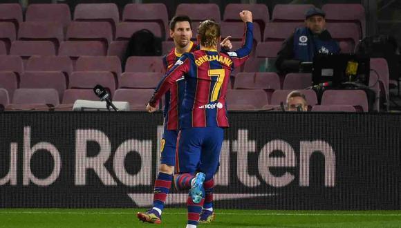 Antoine Griezmann fichó por el FC Barcelona en el 2019, desde el Atlético de Madrid. (Foto: AFP)