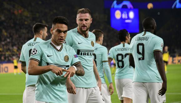 Inter está obligado a vencer a Sampdoria para seguir soñando con el 'Scudetto'. (Foto: AFP)