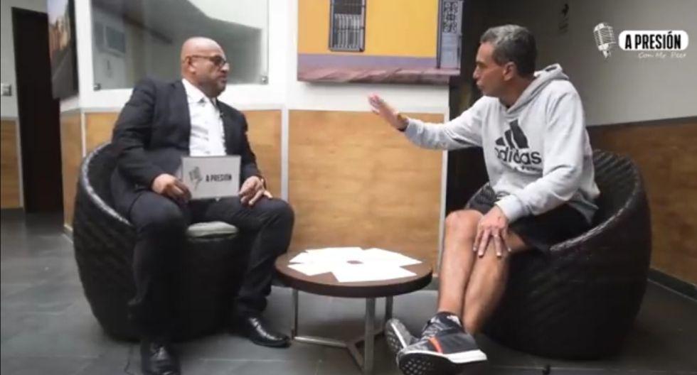 Chemo del Solar reveló que hubo un futbolista que se salvo de ser sancionado en el caso Golf Los Inkas (VIDEO)
