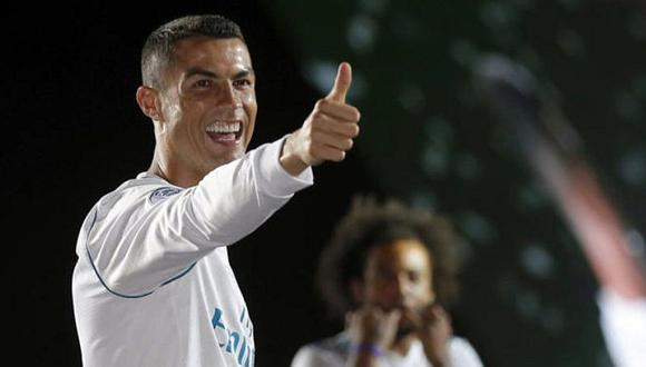 Cristiano Ronaldo sorprende con imagen tras ganar la Champions League