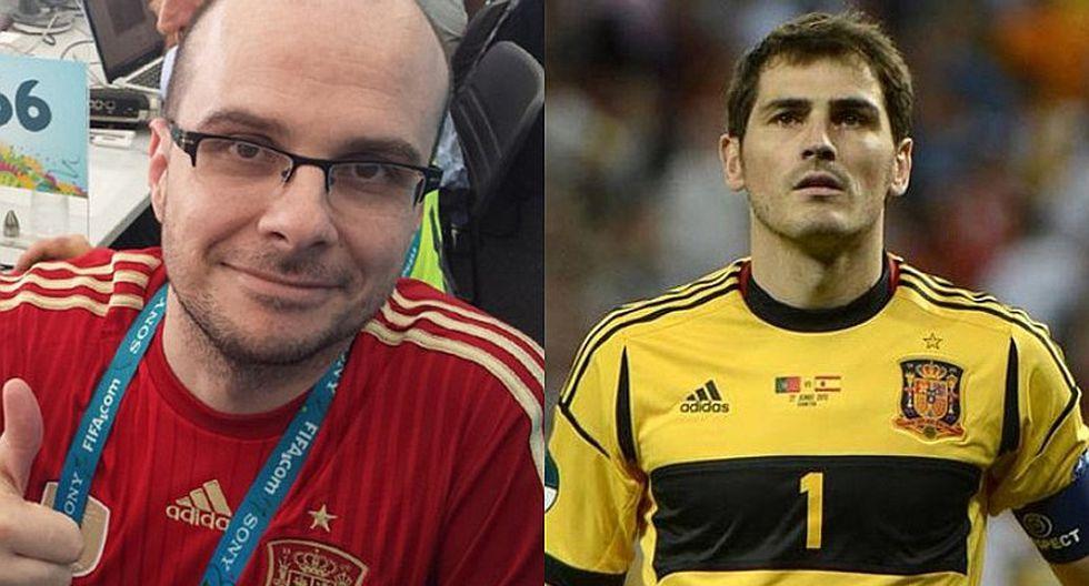 Mister Chip e Iker Casillas tuvieron fuerte discusión por Alemania