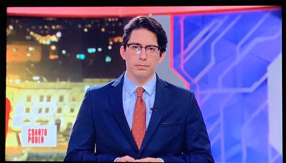 El periodista e hijo de Federico Salazar recibió miles de críticas por asumir la conducción de Cuarto Poder, sin embargo, él toma de la mejor manera todas las opiniones.
