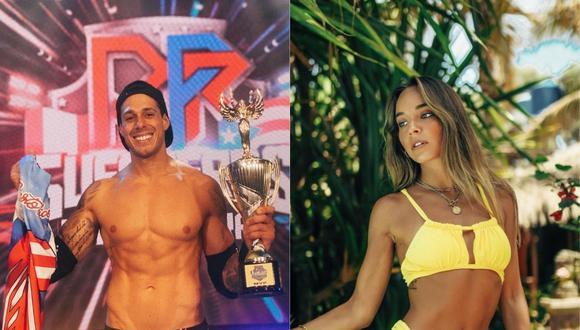 Alexandra Balarezo y Hugo García habrían comenzado una relación sentimental. (Foto: @hugogarcia/@alexandrabalarezo)