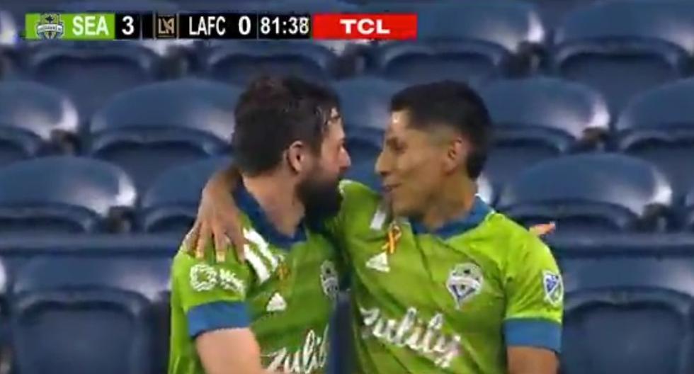 Raúl Ruidíaz volvió a marcar con Seattle Sounders: así fue el golazo de la 'Pulga' contra LAFC en la MLS [VIDEO]