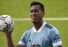 Renato Tapia está suspendido y se perderá el próximo partido con Celta de Vigo
