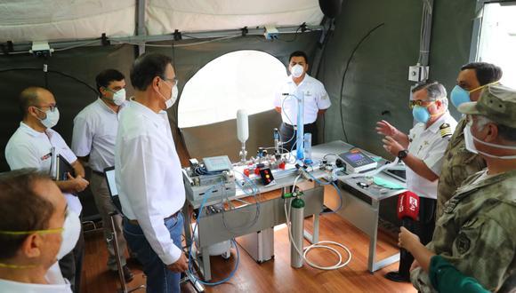 Respirador artificial por Coronavirus en Perú: ¿Por qué se llama Samay el equipo para combatir el COVID-19? | FOTO: GEC