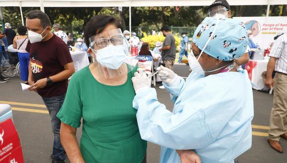 Actualmente en Lima y Callao se emplean dosis de Pfizer. (Foto:  EDUARDO CAVERO)