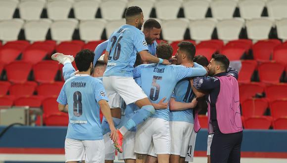 Manchester City le volteó el partido al PSG y se perfila para llegar a la final de la Champions League. (Foto: Twitter)