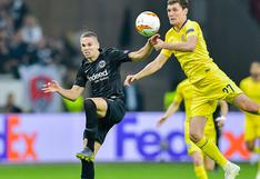 Eintracht Frankfurt y Chelsea empataron 1-1 por la semifinal de ida de Europa League