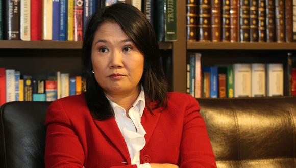 Keiko Fujimori, quien es investigada por el caso Odebrecht, postula por tercera vez a la Presidencia de la República (Foto: Archivo Grupo El Comercio)