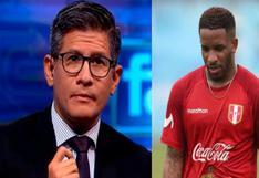 """Erick Osores arremete contra Jefferson Farfán: """"Es un malagradecido"""""""