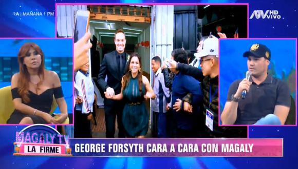 George Forsyth se refirió a su pasado amoroso con Vanessa Terkes.  (Foto: Captura Magaly TV: La Firme)