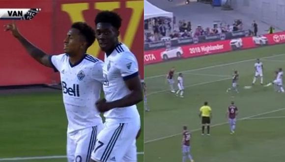 Mira el golazo y asistencia de Yordy Reyna en triunfo del Vancouver