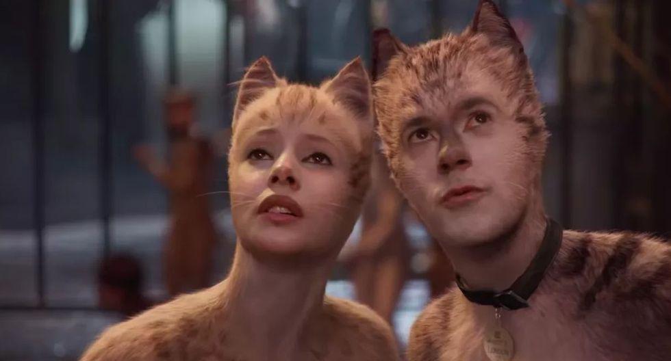 """""""Cats"""" arrasó en los Premios Razzie a las peores películas del año. (Foto: Universal Pictures)"""
