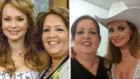 Gabriela Spanic dedicó sentidas palabras ante la pérdida de su madre Norma Utrera. (Fotos: Instagram / @gabyspanictv).