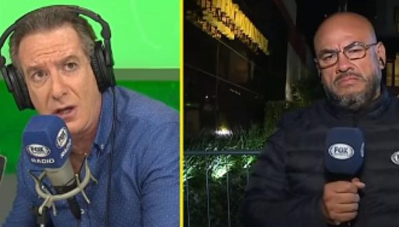 Eddie Fleischman y Peter Arévalo polemizaron sobre audio de WhatsApp que culpa a Carrillo de indisciplina | VIDEO