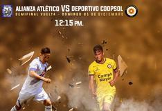[HOY] Alianza Atlético vs. Deportivo Coopsol EN VIVO vía Gol Perú por los playoffs de la Liga 2 Segunda División