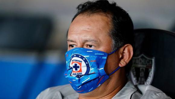 El entrenador peruano le dio curiosa indicación a su pupilo. (Foto: Cruz Azul)