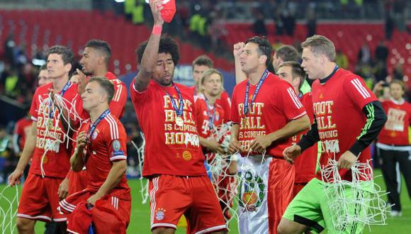 Bayern Munich ganó 2-1 a Borussia Dortmund en la final de la Champions League 2013. (Foto: AFP)