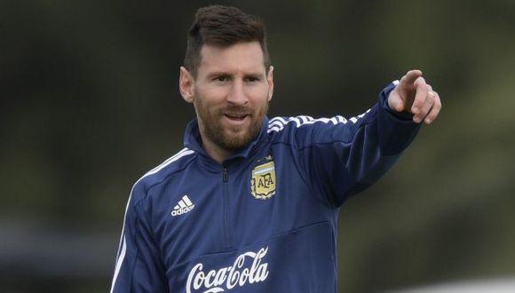Lionel Messi jugó su último partido en la selección de Argentina ante Chile, en la Copa América 2019. (Foto: AFP)